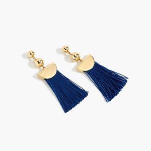 ジェイクルー タッセル ピアス J.CREW WOMEN gold tassel earrings BL|etny