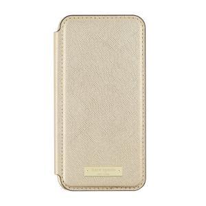 ケイトスペード iPhone 6 7 8 手帳型 ケース kate spade new york protective folio case for iPhone 6 / 7 / 8 GOLD|etny