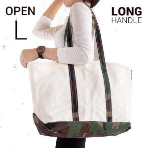 エルエルビーン ボート&キャンバストート L 迷彩 L.L.Bean boat and tote bag open-top (Irregular) long handle CAMO|etny