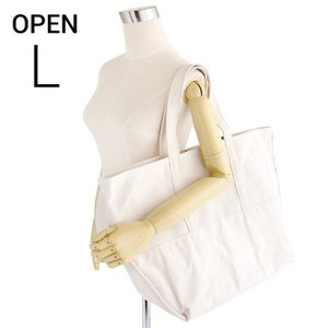 エルエルビーン ビームス ボート&キャンバストート 生成 ナチュラル L.L.Bean for BEAMS boat and tote bag open-top (Irregular) regular handle NATURAL L|etny
