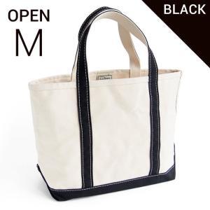 エルエルビーン ボート&キャンバストート M 黒 L.L.Bean boat and tote bag regular handle OPENTOP M (irregular) BK|etny