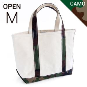 エルエルビーン ボート&キャンバストート L.L.Bean boat and tote bag open-top regular handle (Irregular) M CAMO|etny