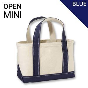 エルエルビーン ボート&キャンバストート ミニ ブルー ネイビー L.L.Bean tote bag...