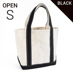 エルエルビーン ボート&キャンバストート S 黒 L.L.Bean tote bag regular handle (irregular) OPENTOP S BLACK|etny