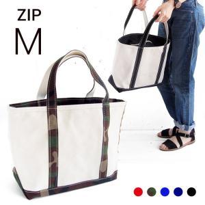 エルエルビーン ボート&キャンバストート ジップトップ M L.L.Bean tote bag regular handle (irregular) ZIPTOP M 5colors|etny