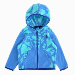 フリースジャケット ノースフェイス キッズ 1歳半 THE NORTH FACE KIDS infant glacier full zip hoodie|etny