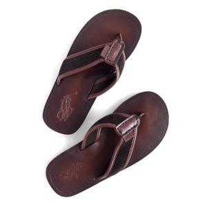 ラルフローレン レザーサンダル POLO RALPH LAUREN sullivan leather sandal DBR|etny