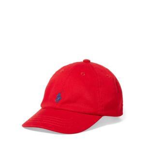 ラルフローレン ベビー ボーイズ キャップ 赤 POLO RALPH LAUREN BABY / BOYS signature pony baseball cap RE|etny