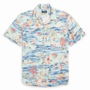 ラルフローレン アロハシャツ POLO RALPH LAUREN classic fit hawaiian shirt|etny