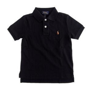 ラルフローレン ボーイズ コットン ポロシャツ POLO RALPH LAUREN BOYS cotton polo shirt BK|etny