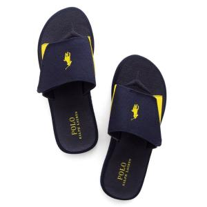 ラルフローレン シャワー サンダル POLO RALPH LAUREN alim canvas slide sandal|etny