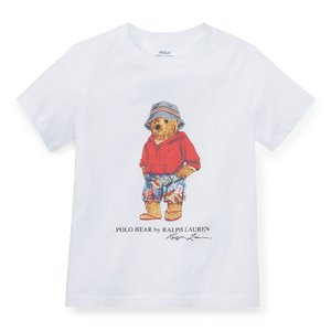 ラルフローレン キッズ ポロベア Tシャツ POLO RALPH LAUREN KIDS palm springs bear cotton t-shirt|etny