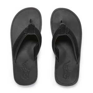 ラルフローレン レザーサンダル POLO RALPH LAUREN Sullivan Leather Sandal BK|etny