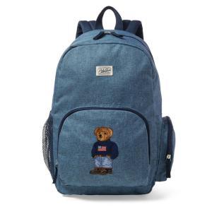ラルフローレン キッズ ポロベア バックパック 8-20歳 POLO RALPH LAUREN BOYS polo bear backpack|etny