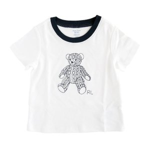 Tシャツ キッズ ラルフローレン テディベア POLO RALPH LAUREN KIDS teddy bear stitch t-shirt|etny