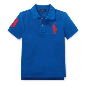 ポロシャツ ボーイズ ビッグポニー ラルフローレン POLO RALPH LAUREN BOYS cotton mesh polo shirt|etny