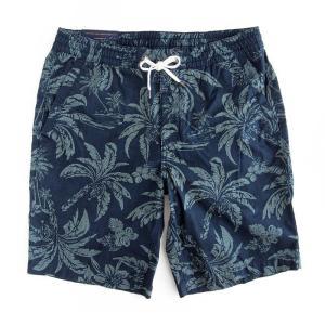 ショートパンツ メンズ ラルフローレン ボタニカル POLO RALPH LAUREN tropical print cotton shorts|etny