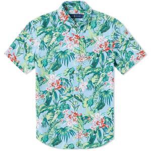 半袖シャツ メンズ ラルフローレン ハワイアン POLO RALPH LAUREN hawaiian oxford shirt|etny