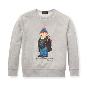 ラルフローレン ポロベア スウェット ボーイズ POLO RALPH LAUREN BOYS university bear sweat shirts BOYS M 150cm|etny