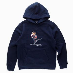 ラルフローレン ポロベア パーカー ボーイズM ネイビー 10-12歳 POLO RALPH LAUREN BOYS polo bear hoodie NAV (BOYS M)|etny