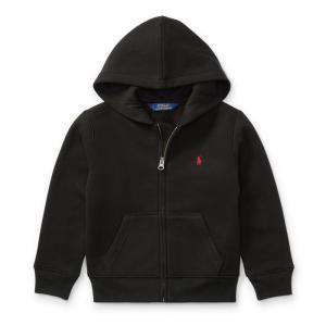 ラルフローレン 子供 パーカー 4歳 5歳 6歳 POLO RALPH LAUREN BOYS cotton-blend-fleece hoodie|etny