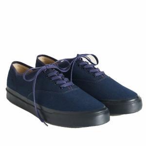 ダブルアールエル スニーカー キャンバス 29cm RRL Military Norfolk Indigo Canvas Sneaker 29cm|etny