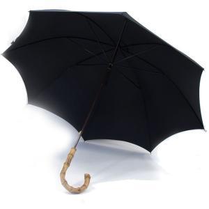 フォックス・アンブレラズ(FOX UMBRELLAS)《メンズ ワンギーハンドルの細身傘(日傘、蝙蝠傘、雨傘)GT9モデル》BLKACK(ブラック/黒)|eton
