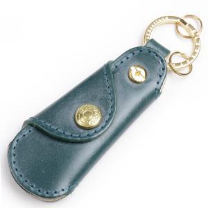 グレンロイヤル Glenroyal キーリング付きポケットシューホーン 03-5802 フルブライドルレザー ボトルグリーン(新色)|eton