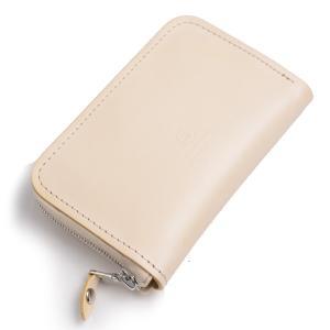 グレンロイヤルGLENROYALジップアラウンドケース ナチュラル 03-5997 多目的小型財布兼ケース ブライドルレザー|eton