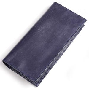 グレンロイヤル GLENROYAL 二つ折長財布 ダークブルー 03-5594 ニュー ドレス用ロングウォレット ブライドルレザー eton
