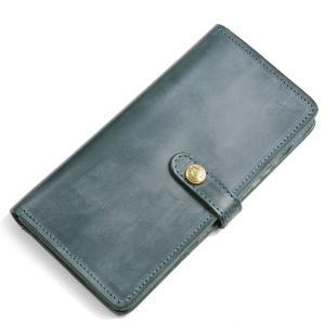 グレンロイヤル GLENROYAL スナップ釦モデル長財布 ボトルグリーン 03-6178 ブライドルレザー ロング パース|eton