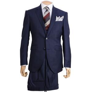 秋冬 ハケット ロンドン メンズ HM422140R ビジネススーツ シングル2ボタンノッチドラペル ブリテッシュモデル シャドーグレンチェック ミッドナイト|eton