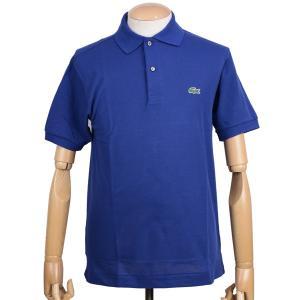 ラコステ(LACOSTE)メンズ 鹿の子半袖ポロシャツ L1212 アメリカ流通モデル アメラコ クラシックフィットモデル インクブルー|eton