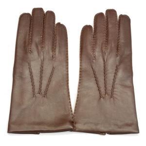 デンツ手袋(DENTS) メンズ用レザーグローブ(革手袋/LEATHER GLOVE)ヘアシープスキン(SHEEPSKIN)ラムズウールライニング No.5-1527 タン(TAN) eton