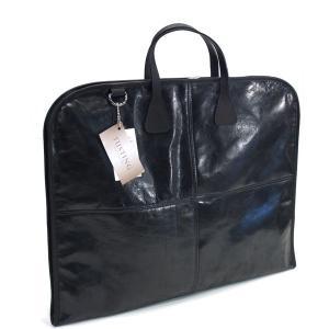タスティング(TUSTING)《スキップトン ガーメントバッグ/SKIPTON GARMENT BAG シューレザー(バッファロー/水牛革)軽量旅行用スーツバッグ》ブラック(BLACK)|eton