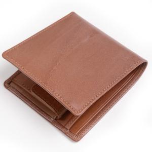 ホワイトハウスコックス s7532 小銭付き2つ折り財布 アンティークブライドルレザー コインウォレットの復刻版 アンティークブラウン eton