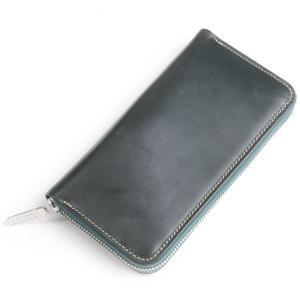 ホワイトハウスコックス 長財布 ロングジップラウンドウオレット デカジップ ブライドルレザー S2622 グリーン eton