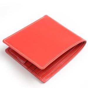ホワイトハウスコックス Whitehouse Cox s8772 ノートケース レッド ブライドルレザー 小銭入れ無し二つ折り財布 eton