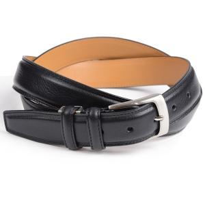 キース KIETH メンズドレス用 ロングサイズ一枚革使用ベルト ブラック 109cmまで対応 フリーサイズ 長尺、長寸、キングサイズ 長さ自由調節 eton
