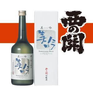 西の関 美吟 吟醸酒 720ml 大分県 萱島酒造 etoshin