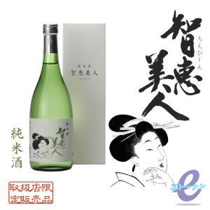 智恵美人 純米酒 720ml 大分県 中野酒造|etoshin
