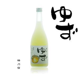梅乃宿 ゆず 8度720ml 奈良県 梅乃宿酒造|etoshin