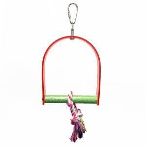 アクリル爪とぎブランコ SS 鳥 おもちゃ インコ 鳥 止まり木 インコ|etpk