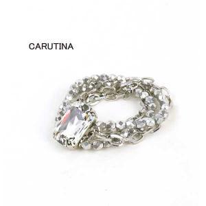 CARUTINA(カルティナ)ジュエル ブレスレット シルバー・6002-80-1211601|etre