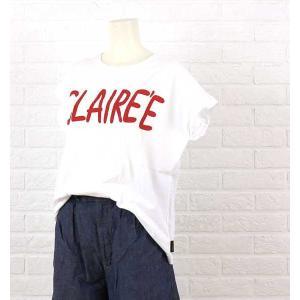 BLUE LAKE MARKET(ブルーレイクマーケット)コットン フレンチ CLAIRE' E Tシャツ・B-321016-3561601【メール便可能5】
