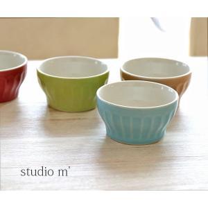 studio m'(スタジオエム) 半磁器小鉢 ミニココット・COCOTTE-2731502【1F-W】