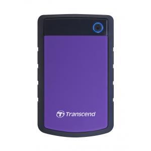 ポータブルHDD トランセンド TS2TSJ25H3P [耐衝撃ポータブルHDD StoreJet ...