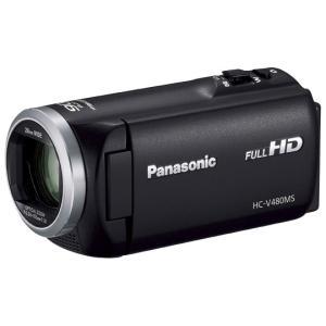 ビデオカメラ パナソニック HC-V480MS-K [デジタ...