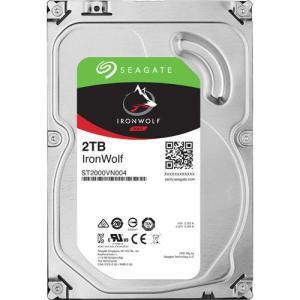 HDD シーゲート ST2000VN004 [NAS向けHDD IronWolf(2TB 3.5イン...