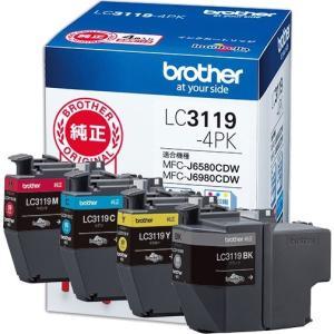 インクカートリッジ ブラザー LC3119-4PK [純正インクカートリッジ大容量タイプ お徳用4色パック]|etrend-y